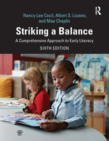 Striking a Balance A Comprehensive Approach to Early Literacy book cover