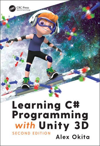 Learning C# Programming with Unity 3D, second edition book cover