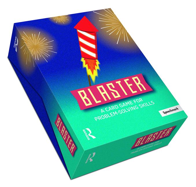 Blaster: A Card Game for Problem-Solving Skills book cover