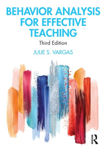 Behavior Analysis for Effective Teaching book cover