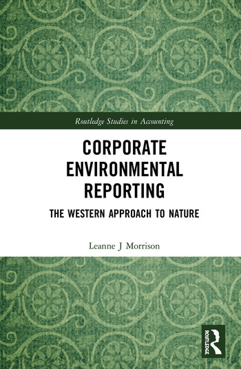 Corporate Environmental Reporting The Western Approach to Nature book cover