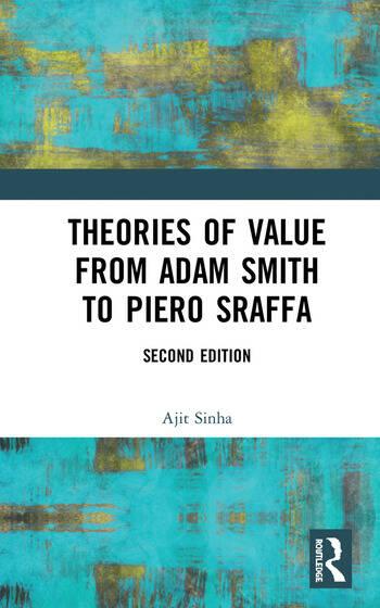 Theories of Value from Adam Smith to Piero Sraffa book cover