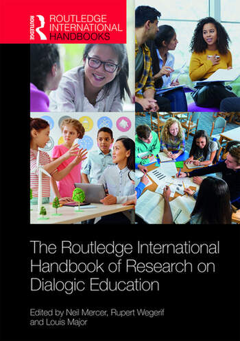 The Routledge International Handbook of Research on Dialogic Education book cover