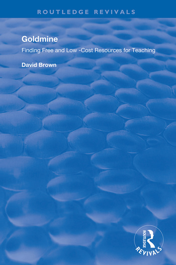 Goldmine Finding Free and Low Cost Resources for Teaching book cover