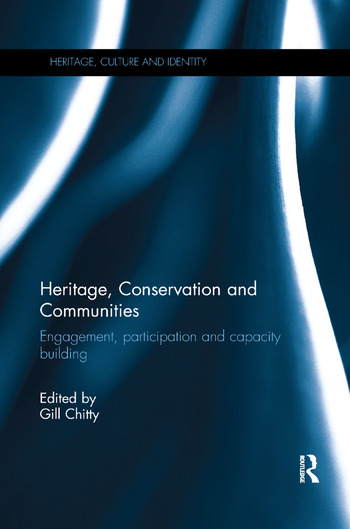 Heritage, Conservation and Communities Engagement, participation and capacity building book cover