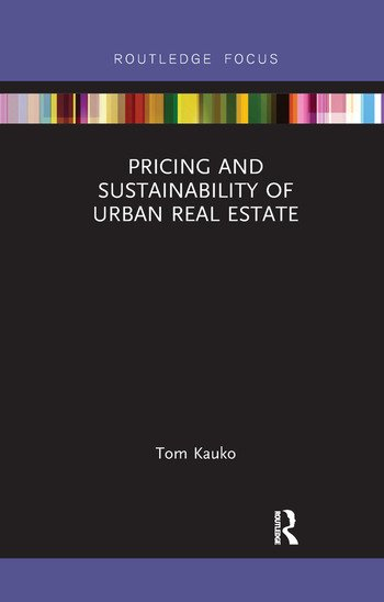 Pricing and Sustainability of Urban Real Estate book cover
