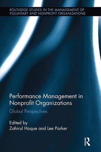 Performance Management in Nonprofit Organizations Global Perspectives book cover