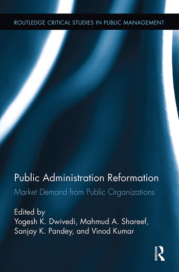 Public Administration Reformation Market Demand from Public Organizations book cover