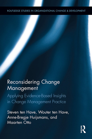 Reconsidering Change Management Applying Evidence-Based Insights in Change Management Practice book cover