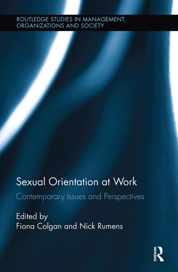 Sexual Orientation at Work Contemporary Issues and Perspectives book cover