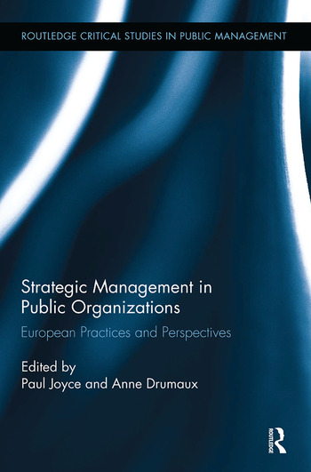 Strategic Management in Public Organizations European Practices and Perspectives book cover