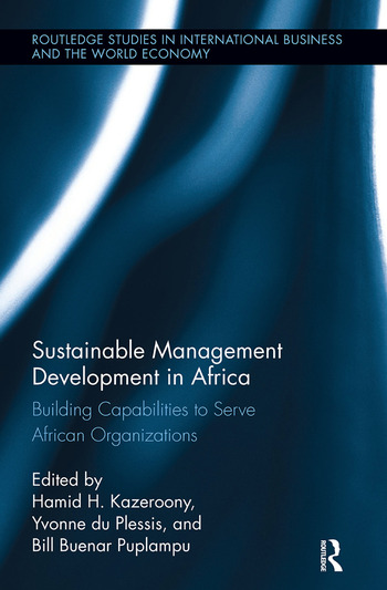 Sustainable Management Development in Africa Building Capabilities to Serve African Organizations book cover