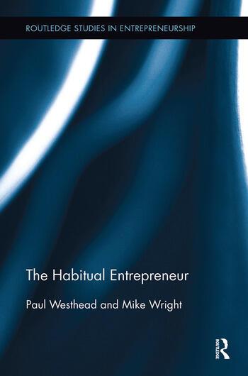 The Habitual Entrepreneur book cover