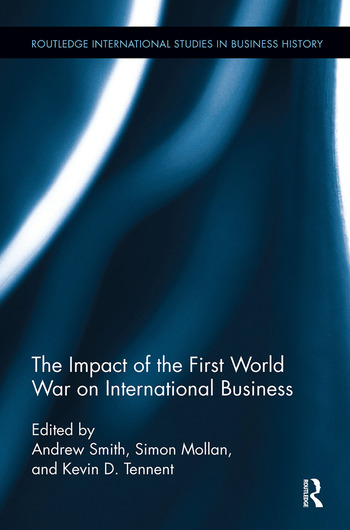 The Impact of the First World War on International Business book cover