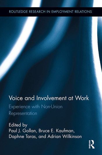 Voice and Involvement at Work Experience with Non-Union Representation book cover