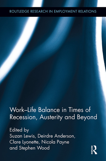 Work-Life Balance in Times of Recession, Austerity and Beyond book cover