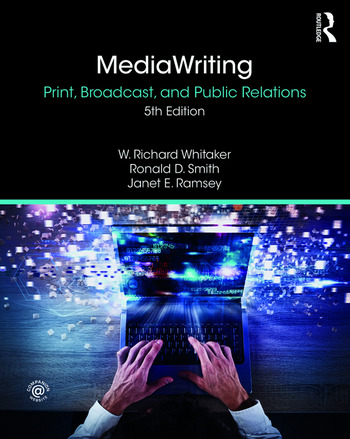 MediaWriting Print, Broadcast, and Public Relations book cover