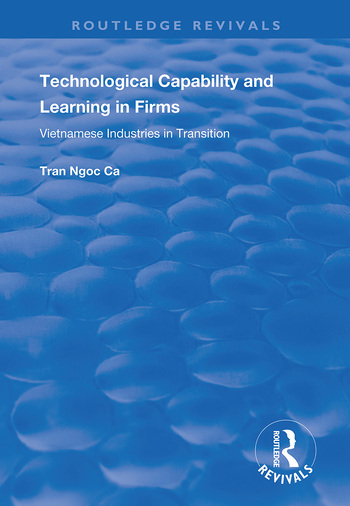 Technological Capability and Learning in Firms Vietnamese Industries in Transition book cover