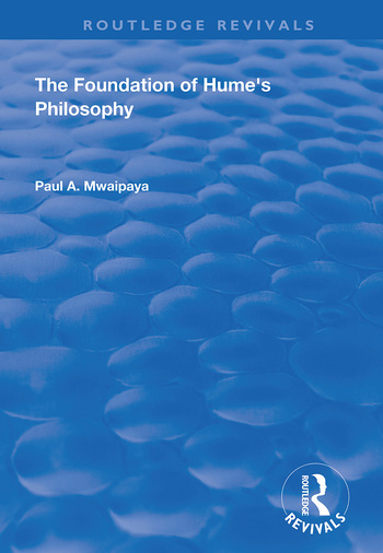The Foundation of Hume's Philosophy book cover