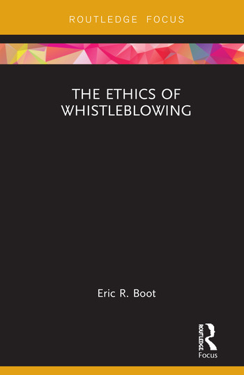 The Ethics of Whistleblowing book cover