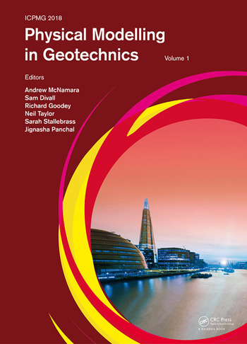 Physical Modelling in Geotechnics, Volume 1 Proceedings of the 9th International Conference on Physical Modelling in Geotechnics (ICPMG 2018), July 17-20, 2018, London, United Kingdom book cover