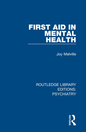 First Aid in Mental Health book cover