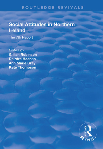 Social Attitudes in Northern Ireland The 7th Report 1997-1998 book cover