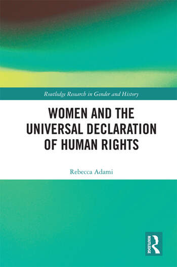 Women and the Universal Declaration of Human Rights book cover