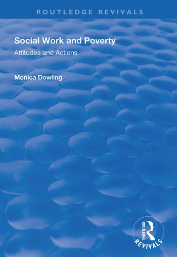 Social Work and Poverty Attitudes and Actions book cover