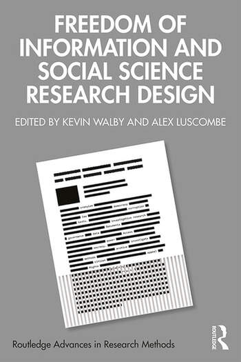 Freedom of Information and Social Science Research Design book cover