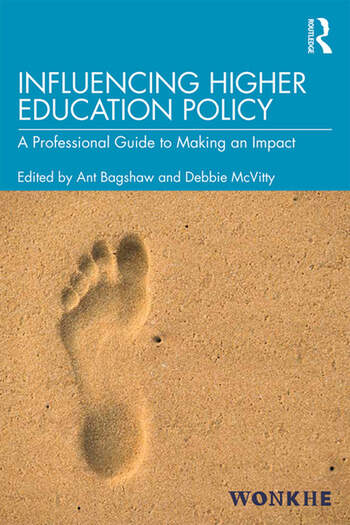 Influencing Higher Education Policy A Professional Guide to Making an Impact book cover