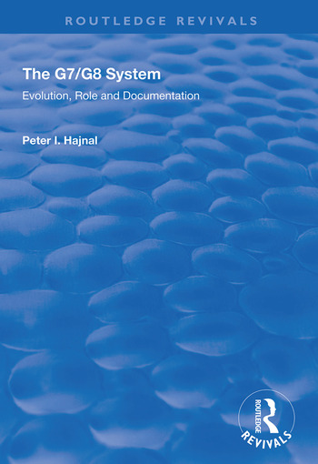 The G7/G8 System Evolution, Role and Documentation book cover