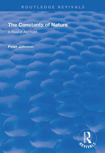 The Constants of Nature A Realist Account book cover