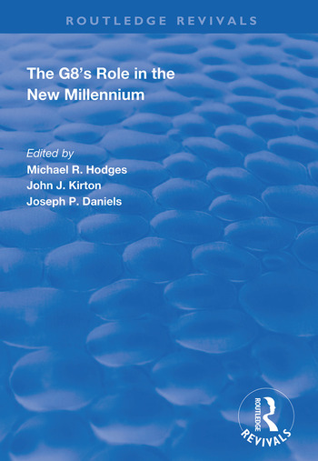 The G8's Role in the New Millennium book cover
