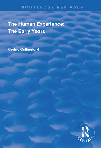 The Human Experience The Early Years book cover