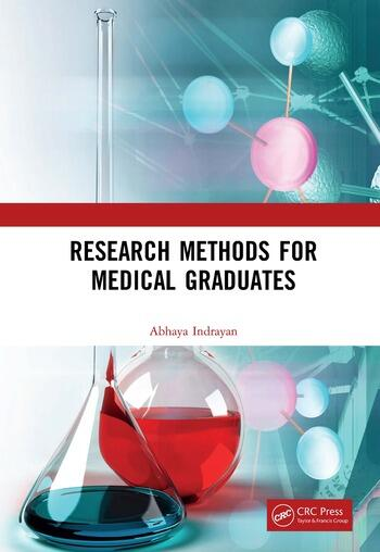 Research Methods for Medical Graduates book cover