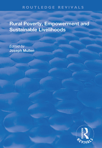 Rural Poverty, Empowerment and Sustainable Livelihoods book cover