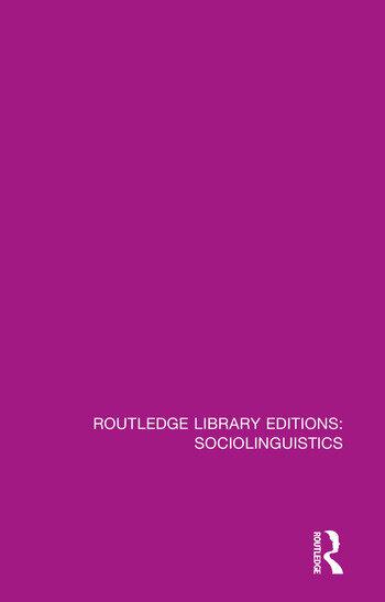 Sociolinguistics A Sociological Critique book cover