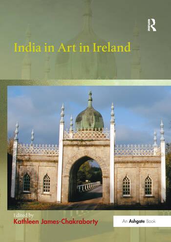 India in Art in Ireland book cover