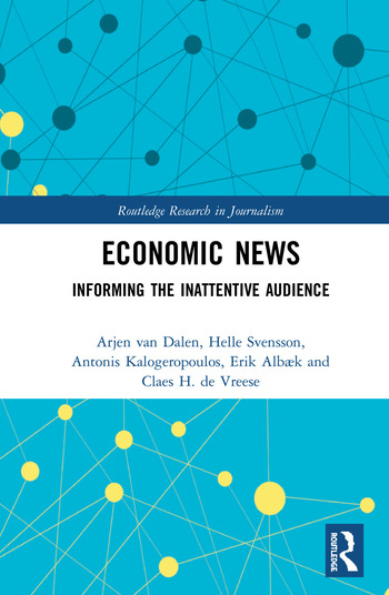 Economic News Informing The Inattentive Audience book cover