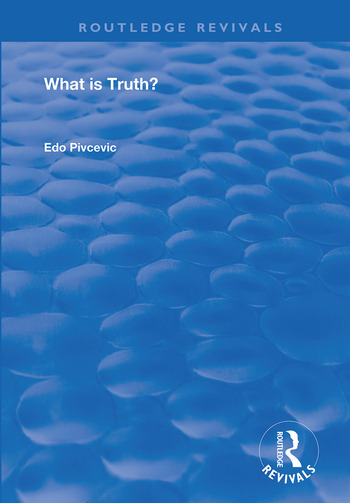 What is Truth? book cover