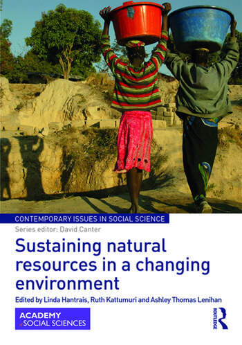 Sustaining natural resources in a changing environment book cover