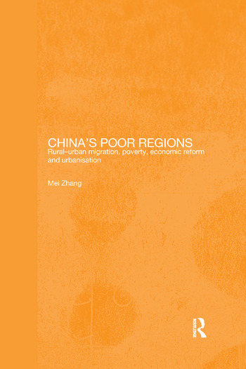 China's Poor Regions Rural-Urban Migration, Poverty, Economic Reform and Urbanisation book cover