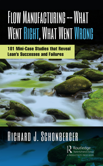Flow Manufacturing -- What Went Right, What Went Wrong 101 Mini-Case Studies that Reveal Lean's Successes and Failures book cover
