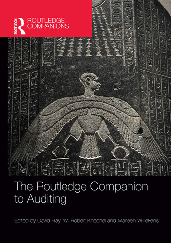 The Routledge Companion to Auditing book cover
