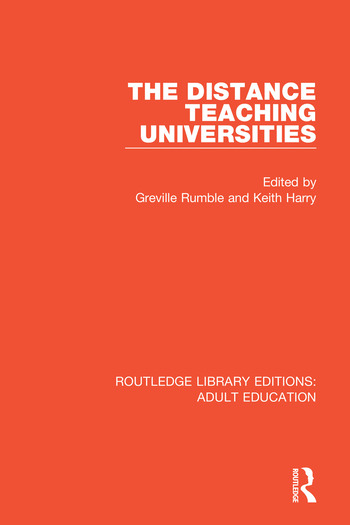 The Distance Teaching Universities book cover