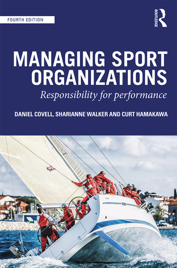 Managing Sport Organizations Responsibility for performance book cover