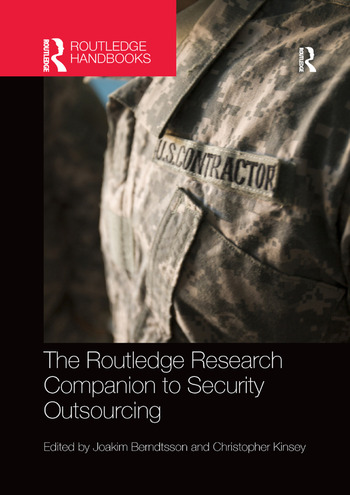The Routledge Research Companion to Security Outsourcing book cover