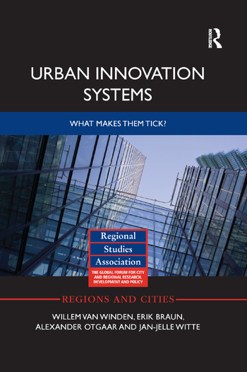Urban Innovation Systems What makes them tick? book cover