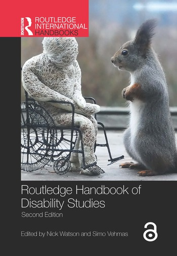 Routledge Handbook of Disability Studies book cover